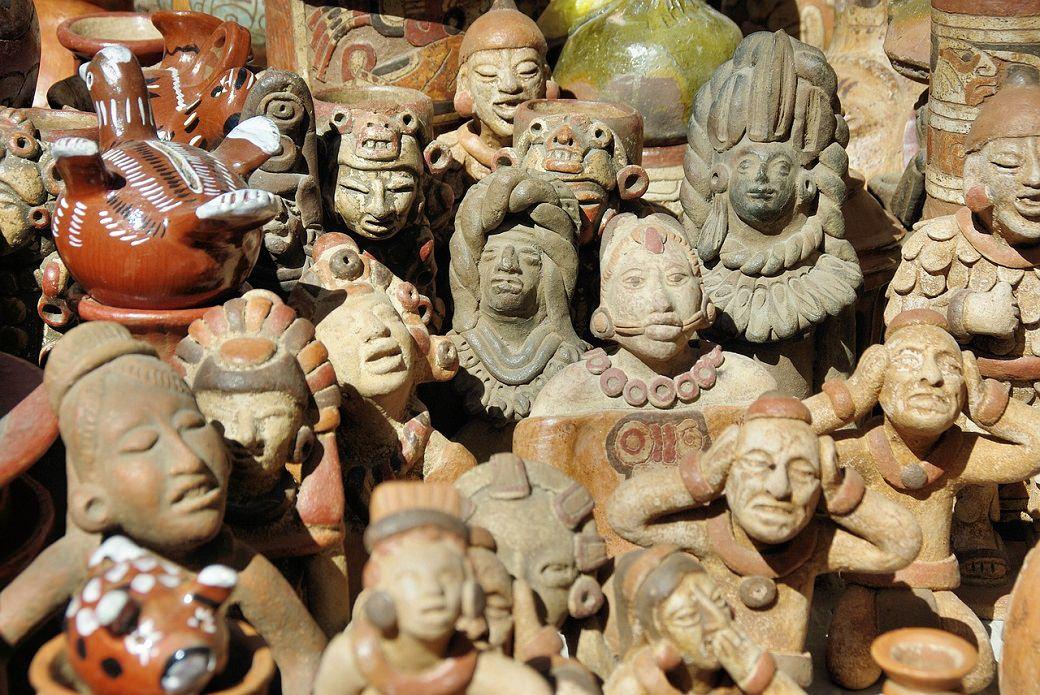 Indiani umenie sosky