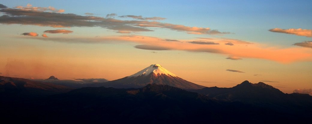 Cotopaxi sopka ekvador
