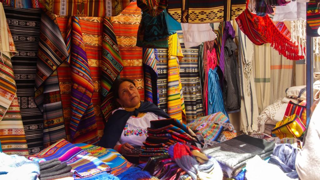 Otavalo merchant