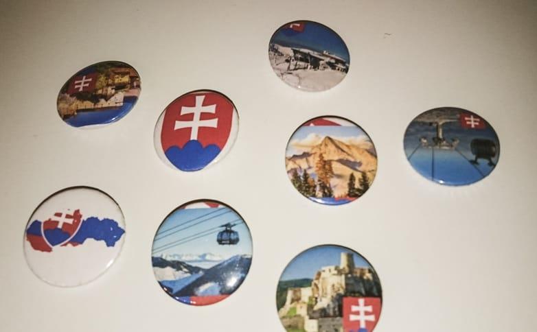 Slovenske odznaky Ekvador